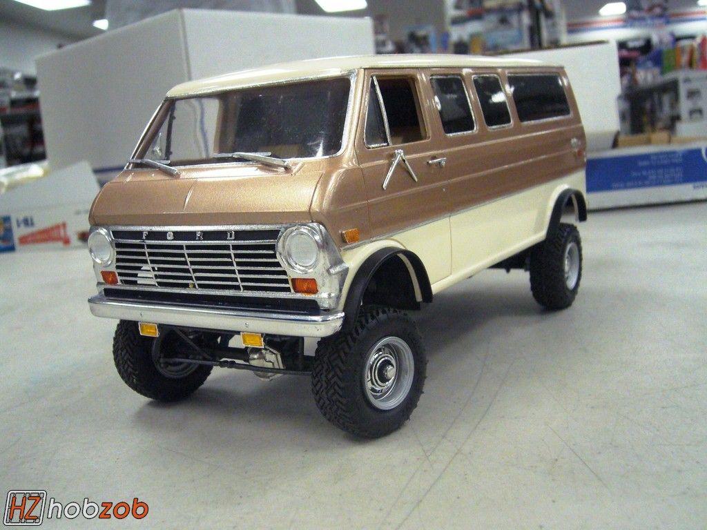 Blue 1969 Ford Econoline Van