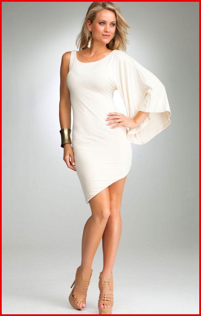 Elegant White Cocktail Dress
