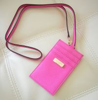 The Kate Spade Lanyard ID Holder comes in Bright ...