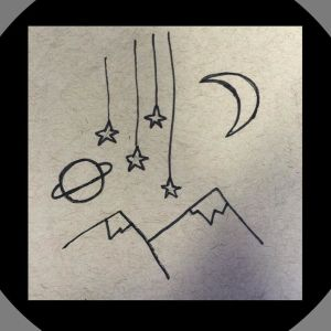 drawing space aesthetic drawings easy grunge doodle planet doodles moon draw provocative beginners please getdrawings outer