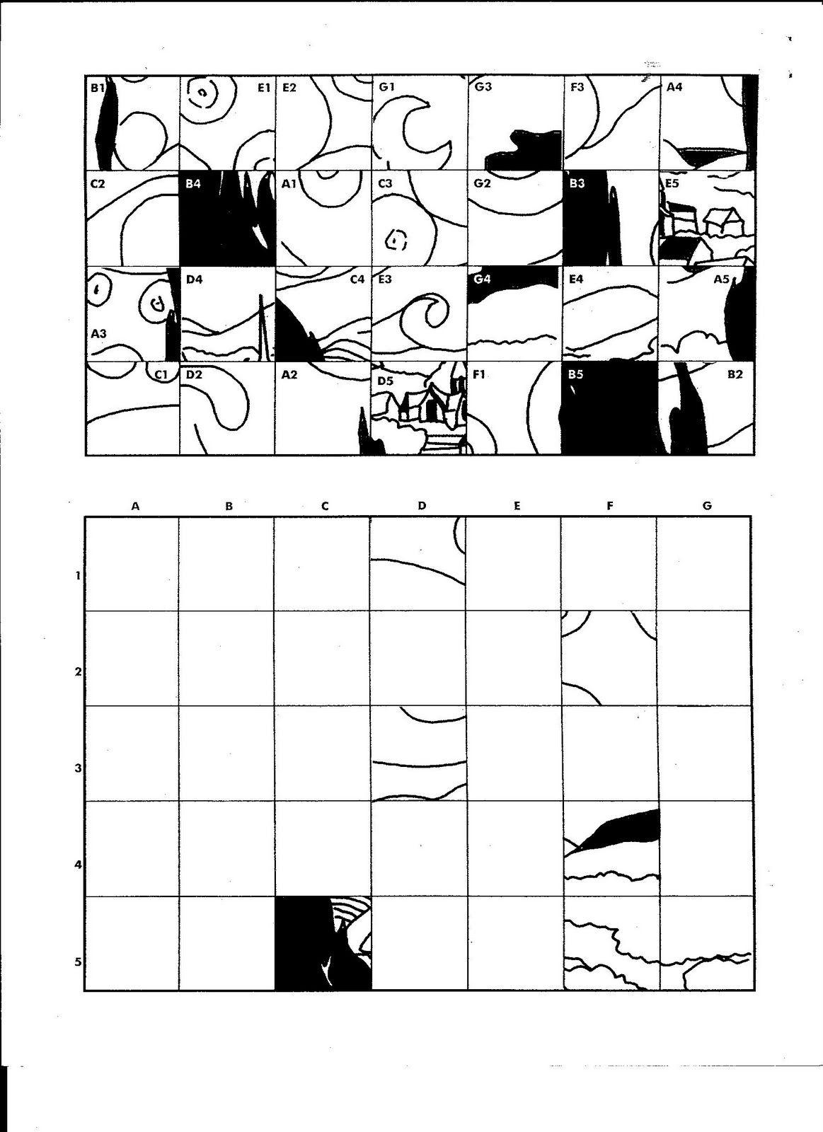 Grid Drawing Worksheet