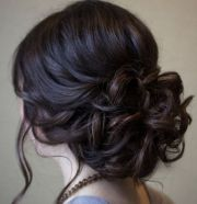 beautiful prom updo hairstyle