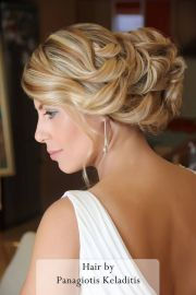 ancient greek hairstyle bridal