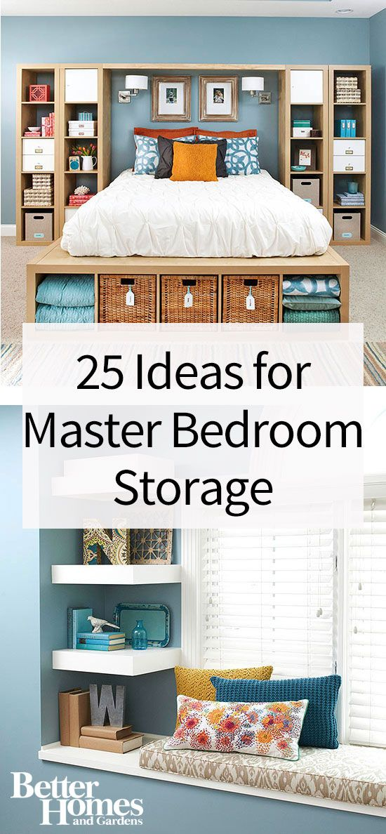 how to declutter your master bedroom