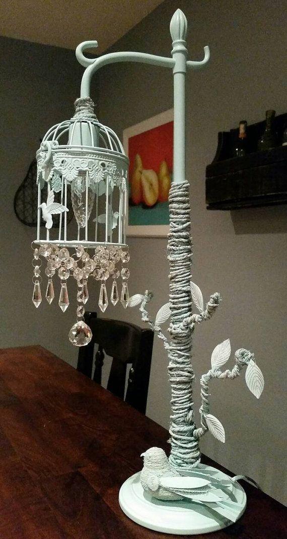 Bird Cage Chandelier Birdcage Light Lamp Shabby Chic Https