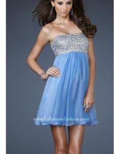 9c1b4259856 Explore plus size homecoming dresses and more also periwinkle la femme  short chiffon cocktail dress fashion