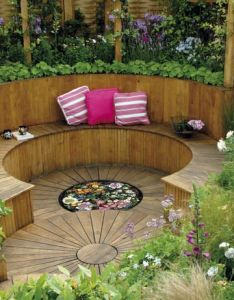 Usable garden space outdoor retreat galleries hgtv home  television more ideas for the to build also best images about on pinterest gardens fire pits and rh