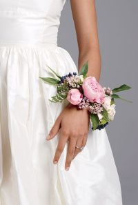 An Unexpected Wedding Detail: Floral Bridal Corsages ...