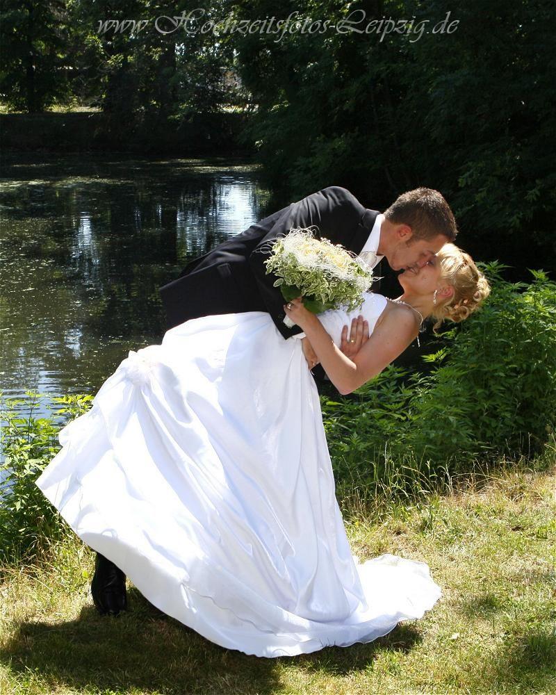 Hochzeitsfoto am Standesamt Gropsna bei Leipzig