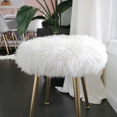 Fluffy Desk Chair Wedding Covers Torquay Best 25+ Fuzzy Stool Ideas On Pinterest | Ikea Stool, Diy And Fur Stools