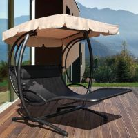 Jarder Two Seater Luxury Swing Seat Bed - Sun Lounger ...