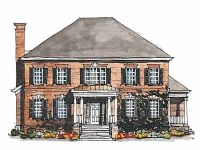 Georgian House Plan with 3380 Square Feet and 4 Bedrooms(s ...