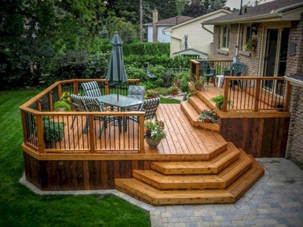 Backyard Idea Deck Design