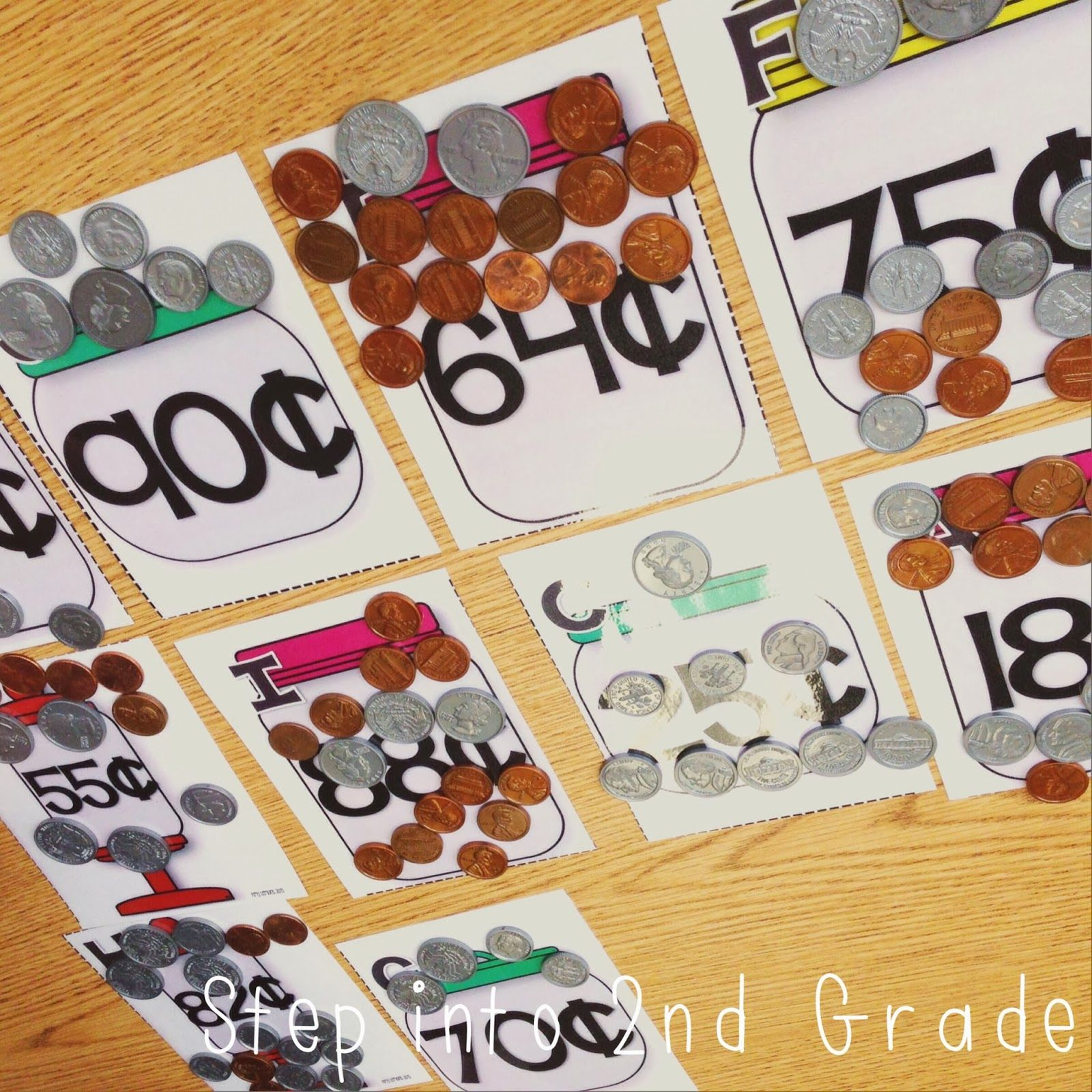Counting Coins Math Station