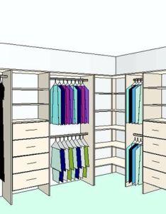 shaped wardrobe  like the shelves in corner no wasted rod space also diseno de closet medidas estandar buscar con google rh za pinterest