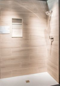 Bathroom shower wall tile - Bosco Cenere Faux Wood Wall ...