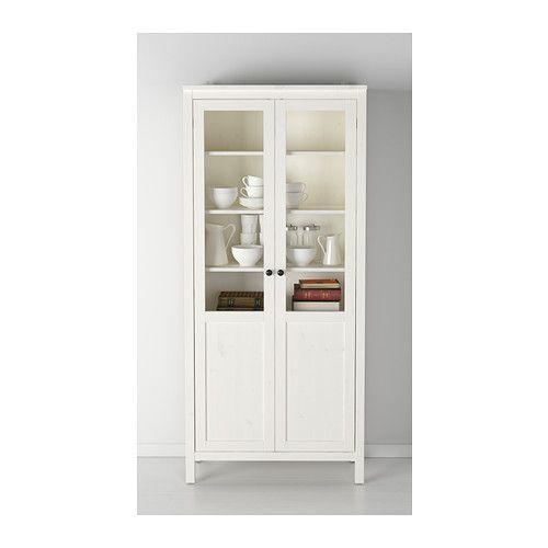 HEMNES Armario puerta panelvidrio  tinte blanco  IKEA  Decoracin  Pinterest  HEMNES Ikea y Panel