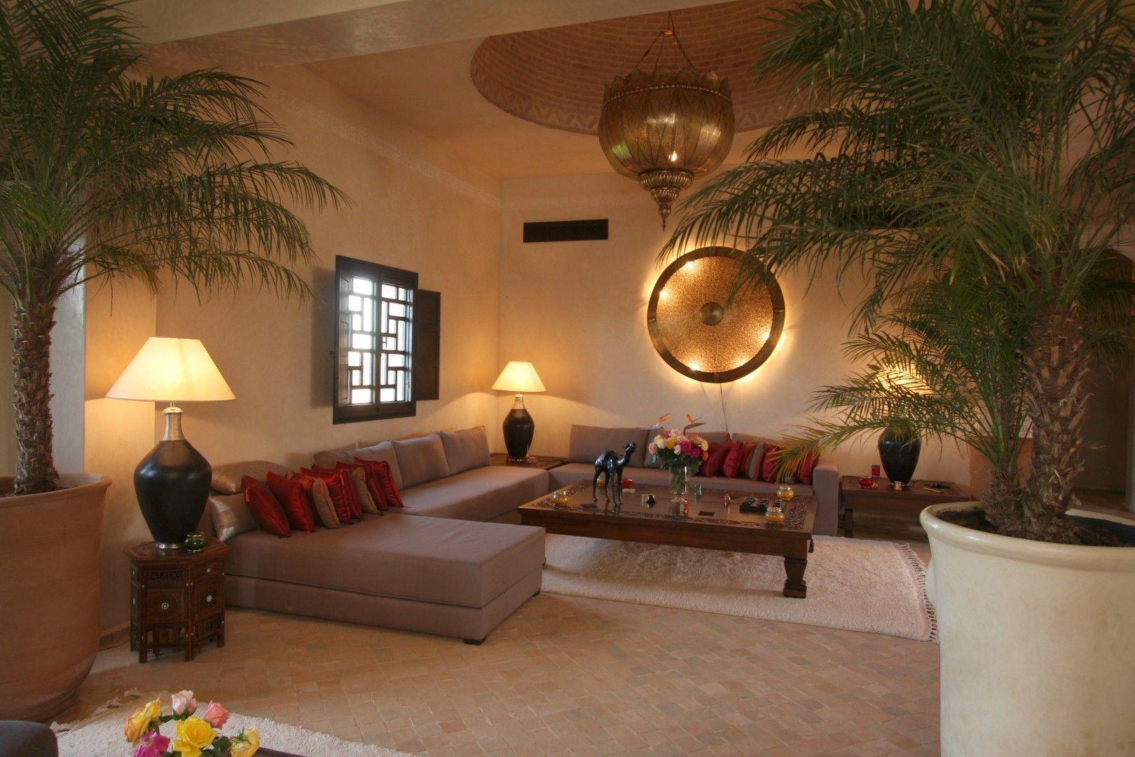 Salon Marocain  Moroccan Design  Pinterest  Salons Salon marocain and Living rooms