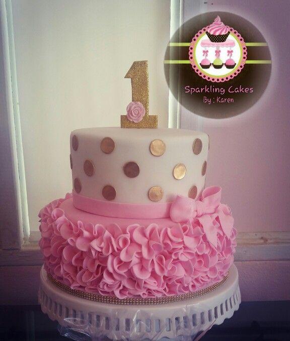 Baby Pink Birthday Cakes