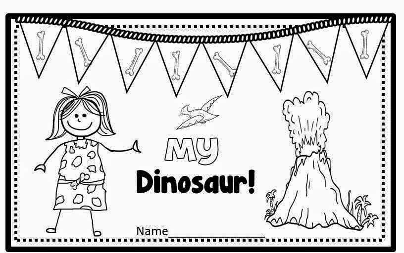 Freebie Emergent Reader (Dinosaurs with Color Words