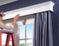 cornice above patio doors | Where thou art, that is home ...