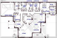 One Story Open Floor Plans with 4 bedrooms   Australian ...
