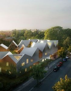 Contemporary architecture also nord architects healing danish firm rh pinterest