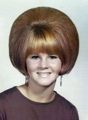 beehive hairdo 1970