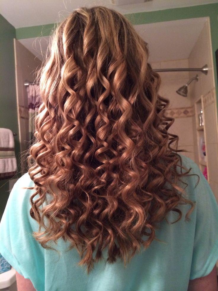 Spiral Curls For Prom Cute Hair Pinterest Curlss Spiral