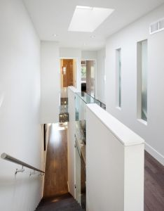 Gallery of the linear house green dot architects also rh pinterest
