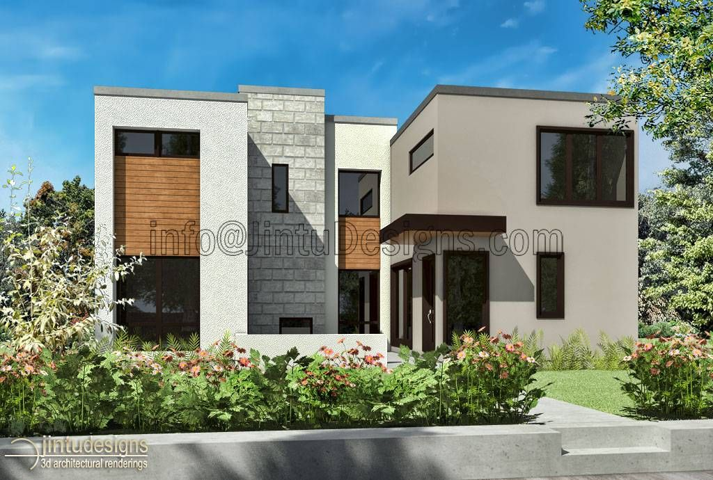 Awesome Architectural Artist Impressions Contemporary House