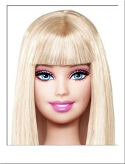 barbie doll costume wig #long #blonde