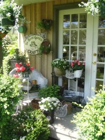 Shabby Chic Outdoor Ideas Design Hen Chick