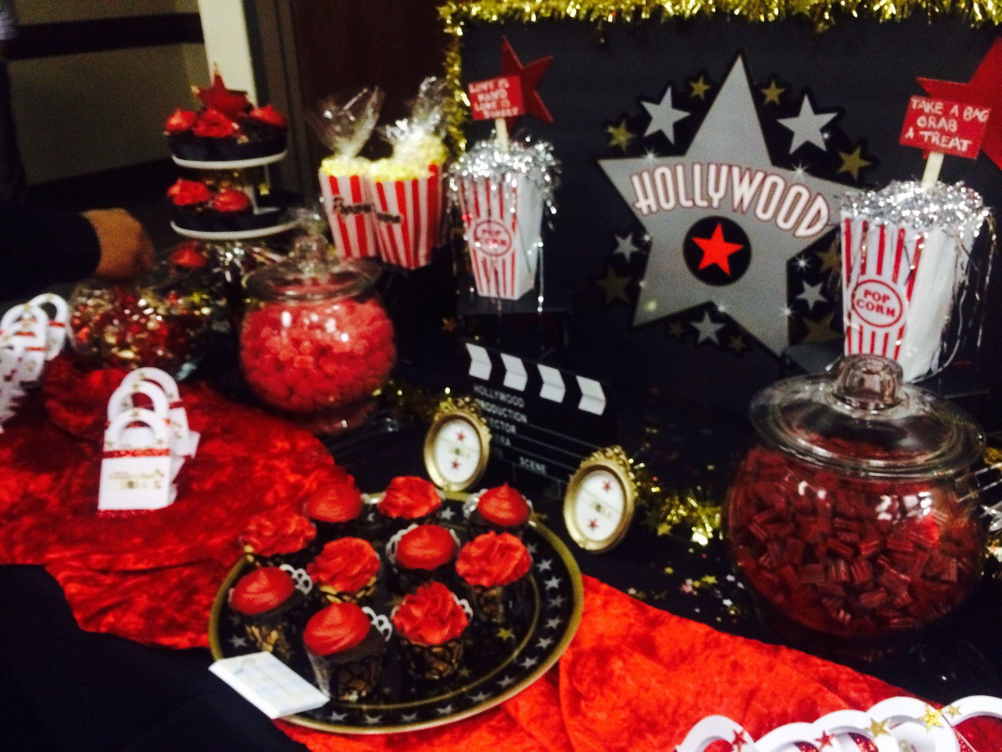 Hollywood Candy Buffet Redcarpet Oliver Amp Company