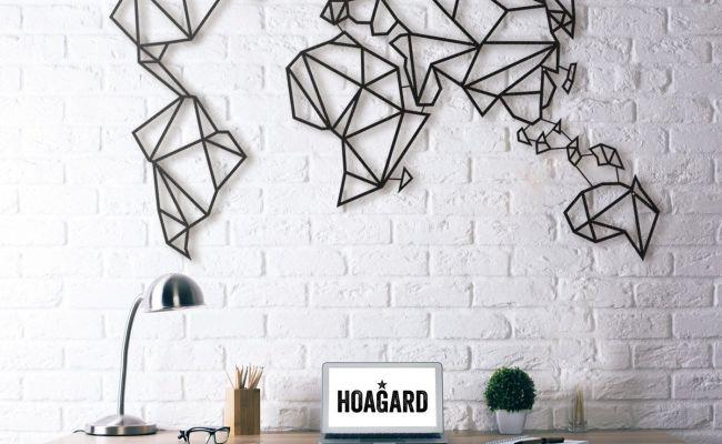 Hogard Wall Art World Map The Castle Pinterest