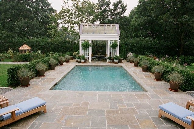 Small Pool Good Look And Size Ck Barry Block Landscape Design