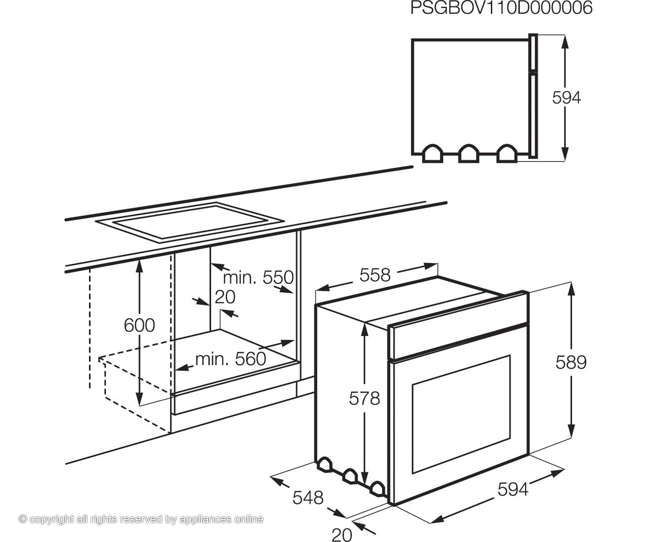 Microwave Oven Dimensions Standard