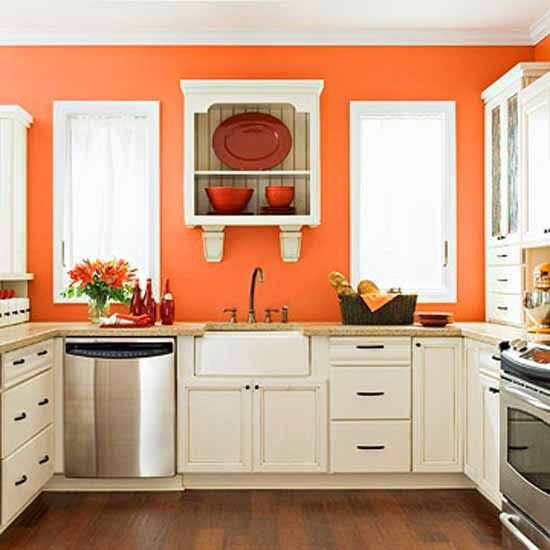 coral kitchen cabinet colors Orange Kitchen Decor on Pinterest | Orange Kitchen, Orange Kitchen Walls and Burnt Orange Kitchen