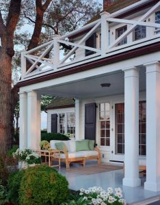 Sawyer berson architects small window next to french doors that has the correct shutter size cover have screen also best railings  trim work images on pinterest home homes and rh