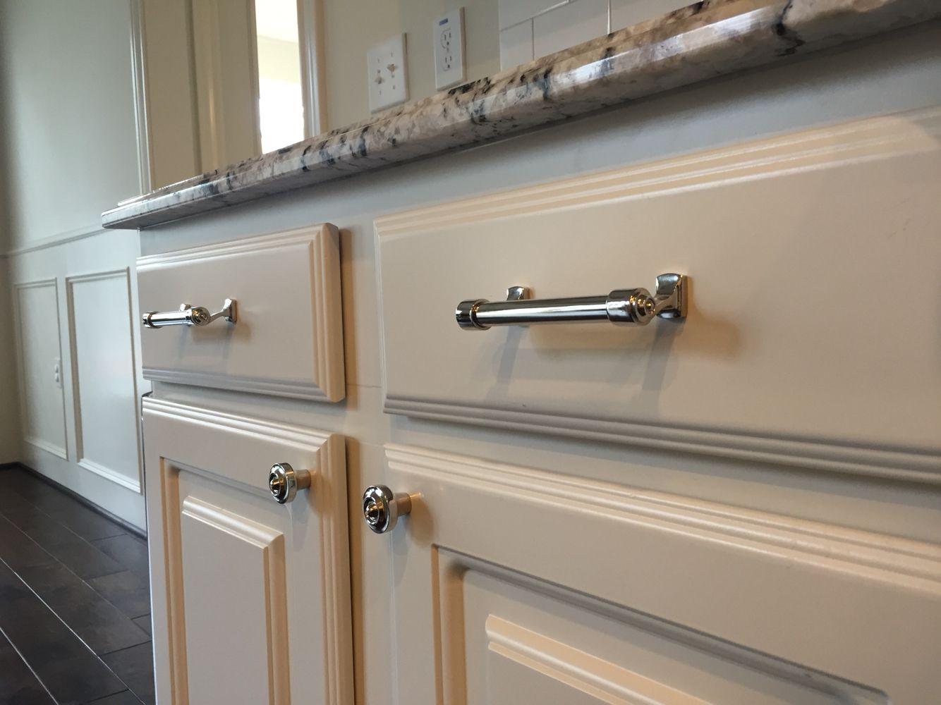 Restoration Hardware Polished Nickel Cabinet Pulls