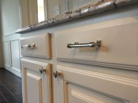 Restoration Hardware Polished Nickel Cabinet Pulls ...
