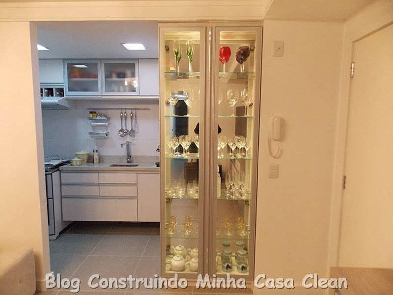 35 Cristaleiras Lindas na Decorao  Display cabinets