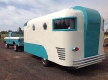 Vintage Fiberglass Camper Trailers
