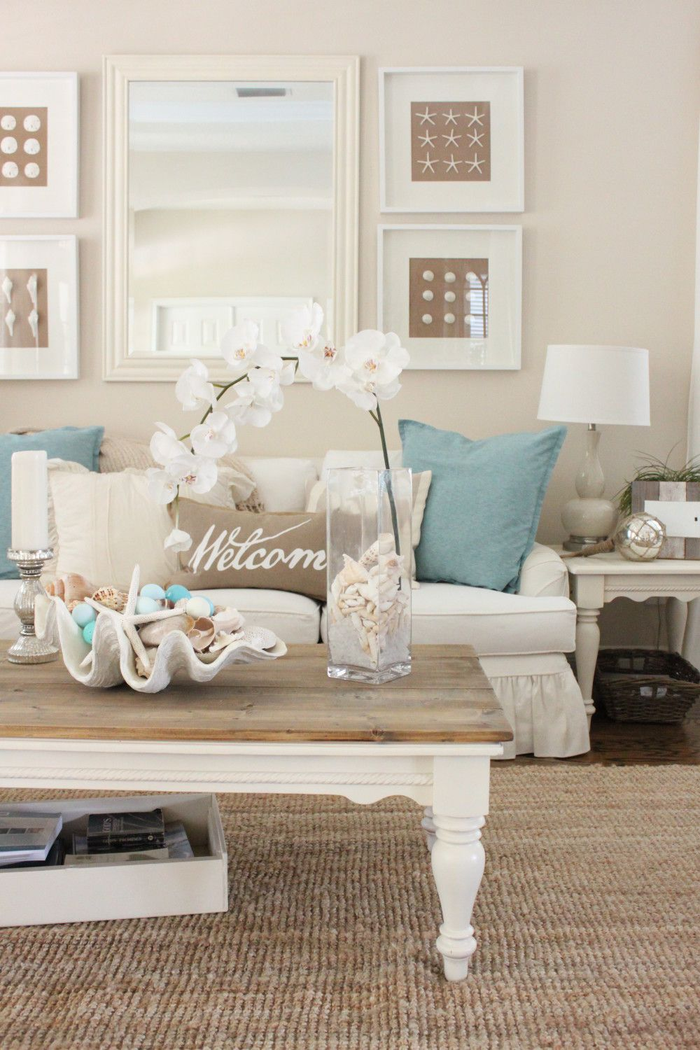 50 Inspiring Living Room Ideas Starfish Living Rooms And Easter