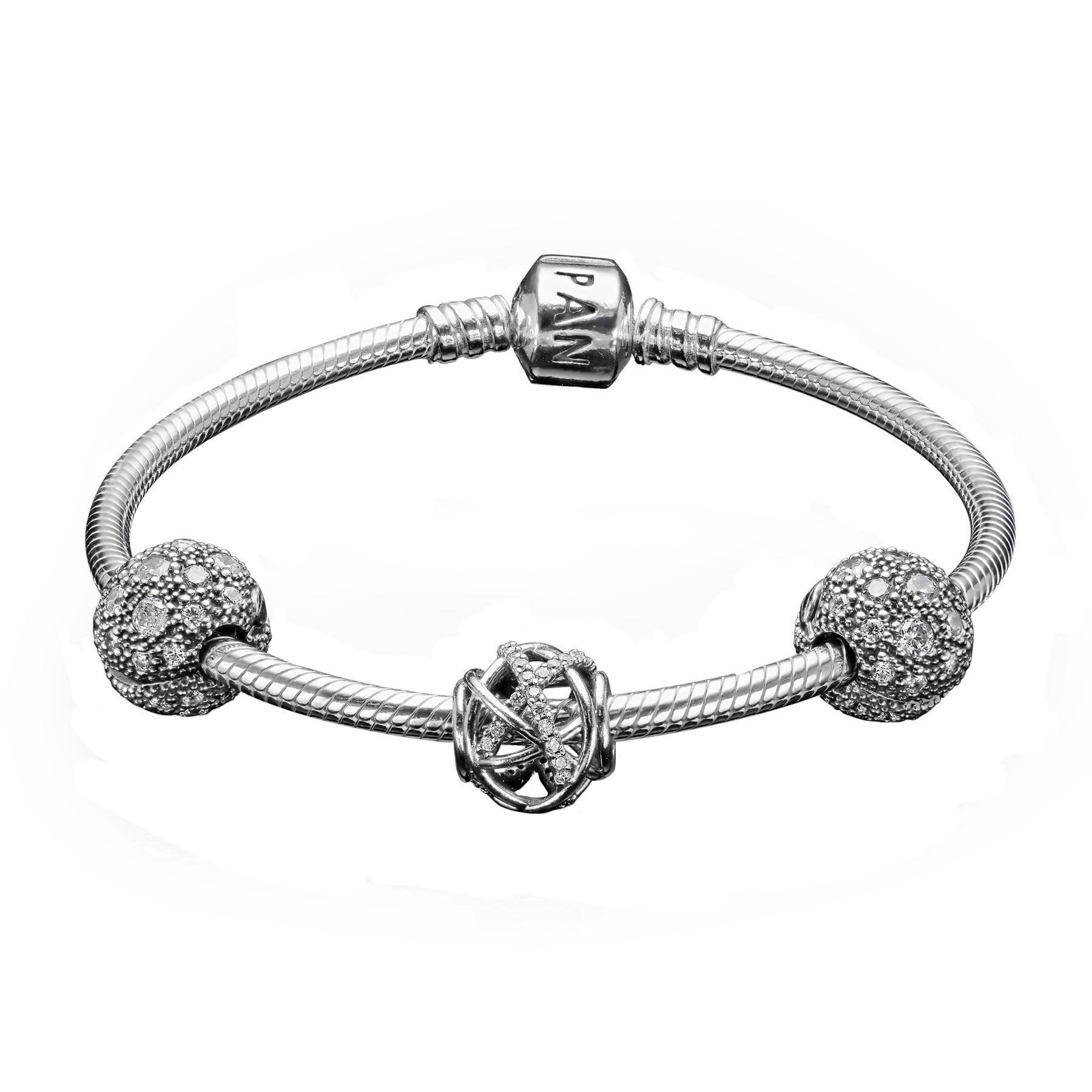 PANDORA Stargazer Gift Set features a sterling silver
