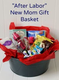 Create a DIY New Mom Gift Basket for After Labor | Mom ...