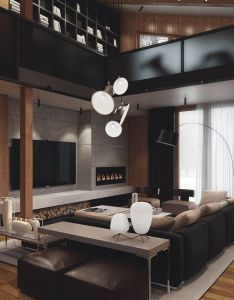 Architecture interior design also ecstasy models country houses living room ideas and rh pinterest