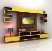 Tv On The Wall Ideas Mount Hide Wires Wooden With Floating ...