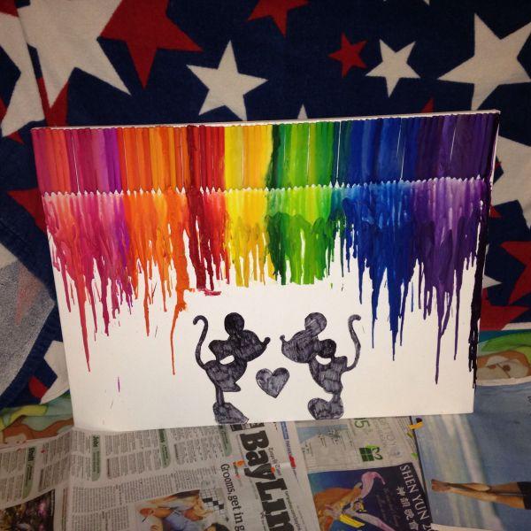 Bored Decided Make Disney Inspired Crayon