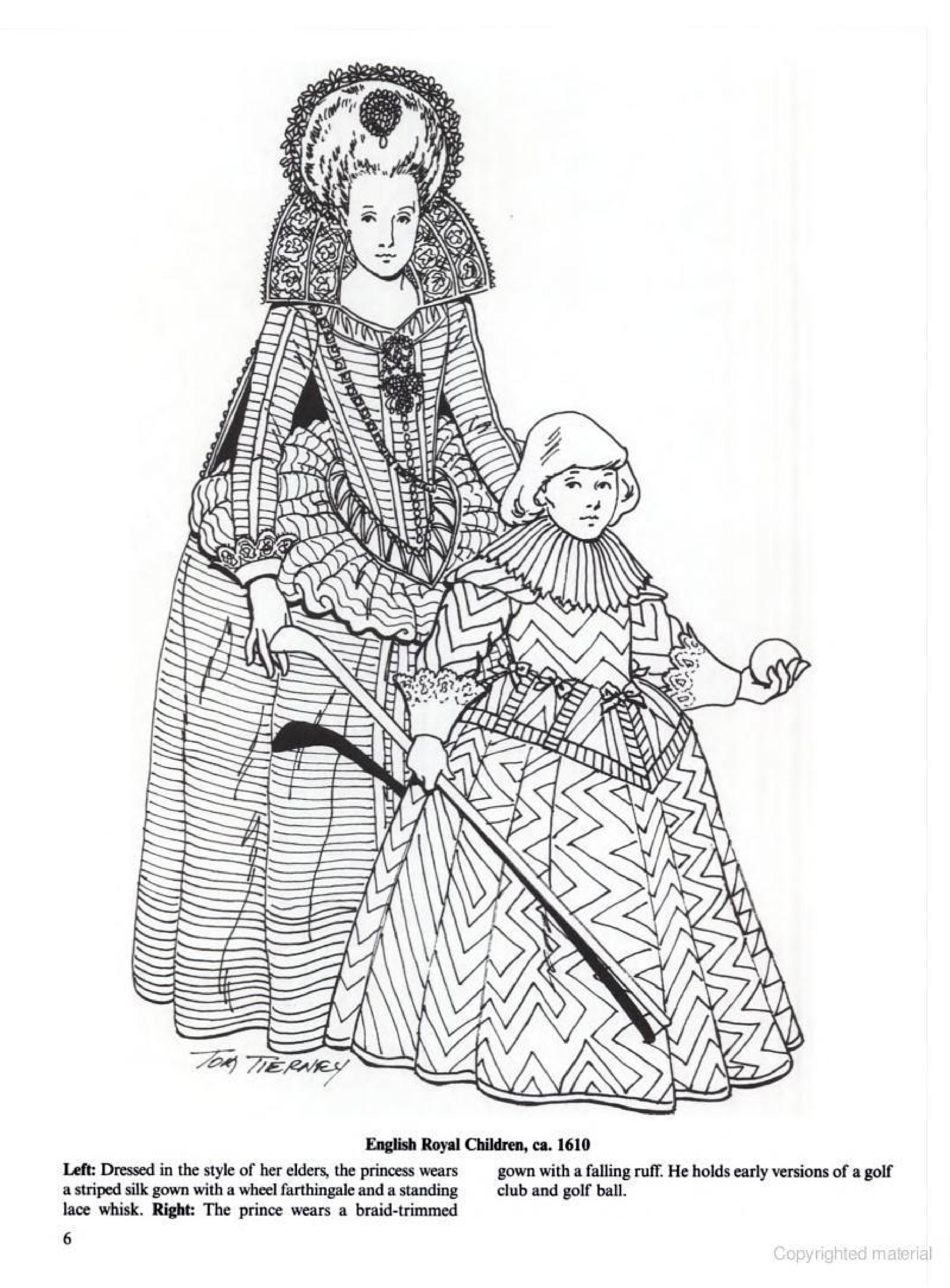 English Royal Children, ca. 1610 Jacobean and Early